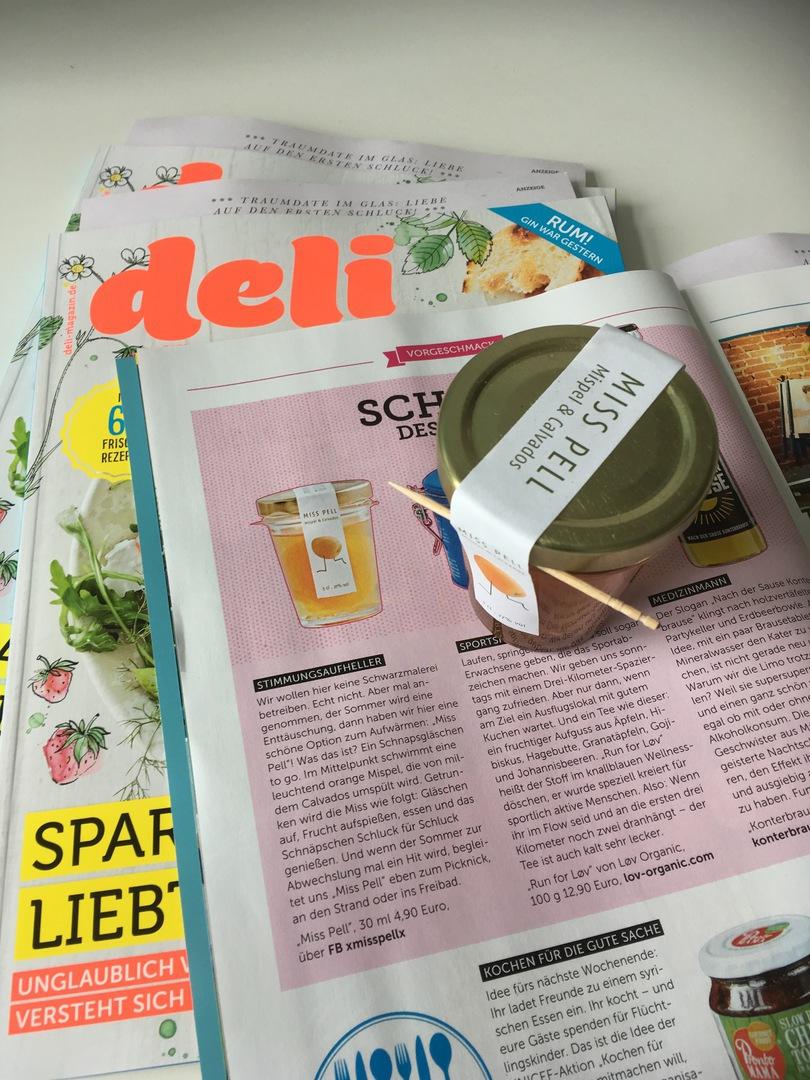 Bericht in Foodmagazin DELI