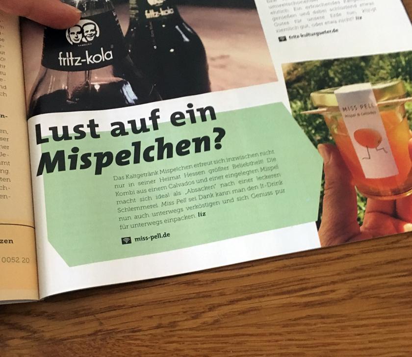 Mispelchen hossa Magazin